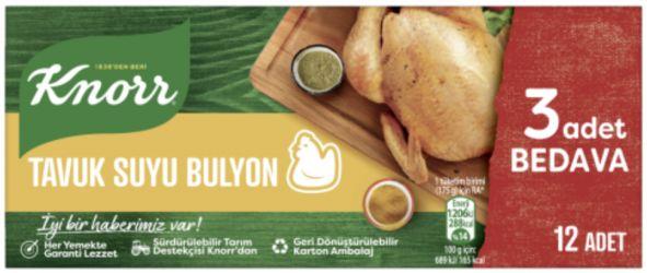 Knorr kurczak bulion 12szt