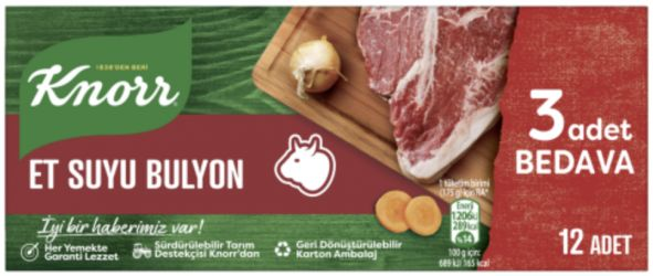 Knorr mięso bulion 12szt