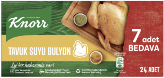Knorr kurczak bulion 24szt