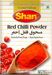 SHAN red chilli powder...