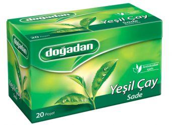 DOĞADAN yeşilçay herbata...