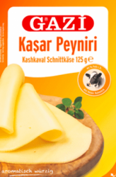 GAZI plastry żółty ser 125g