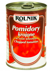 ROLNIK pomidory krojone 400g