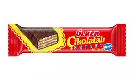 ULKER wafle w czekoladzie 39g